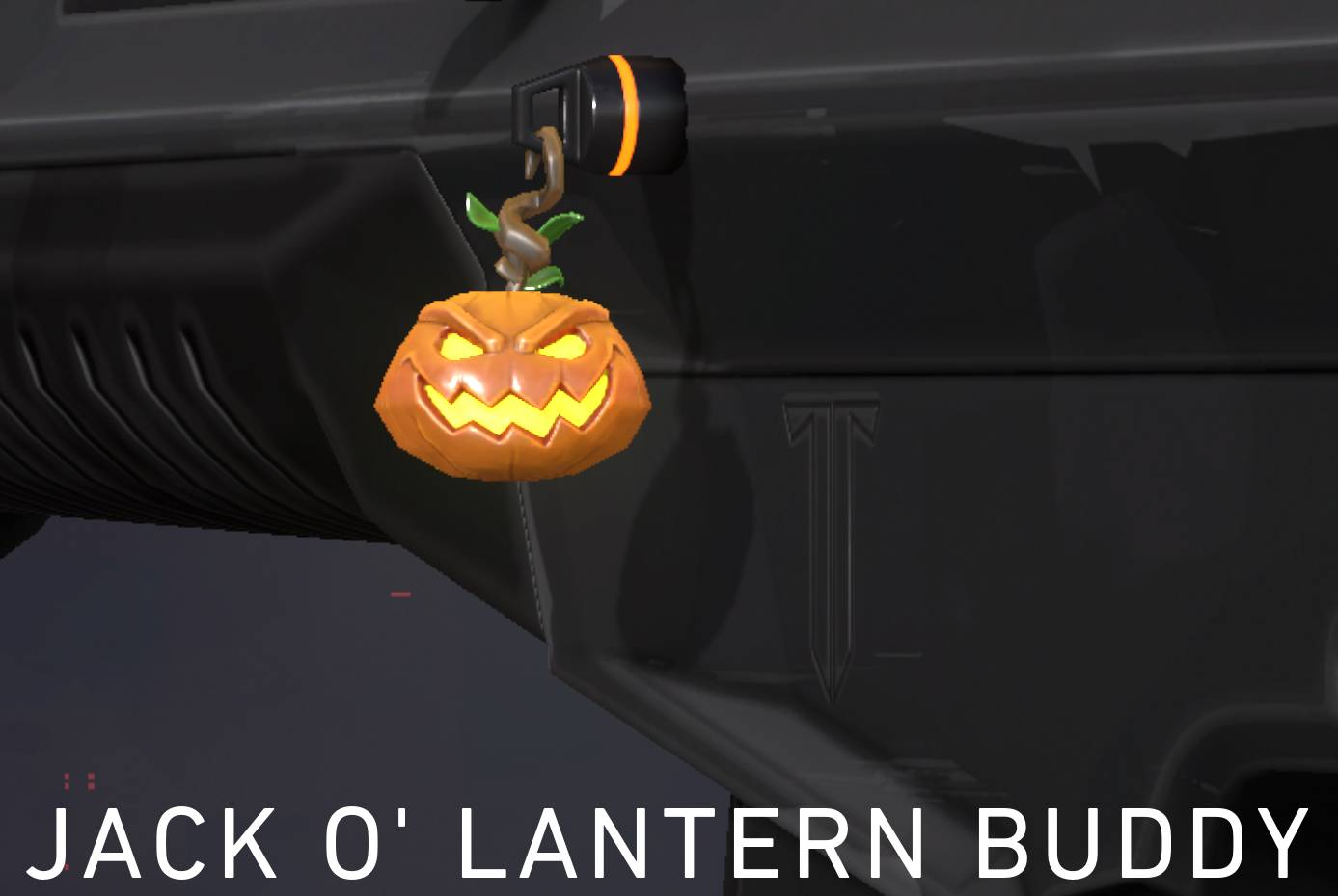 The Jack O'Lantern Gun Buddy. This reward is accessed in the premium path at tier 7.