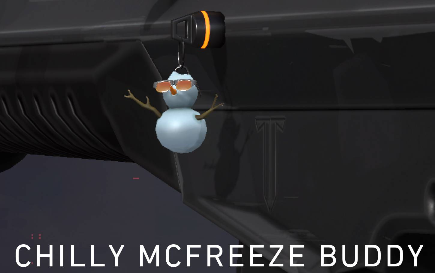 The Chilly McFreeze Gun Buddy. It's the free reward at the end of Chapter 9.